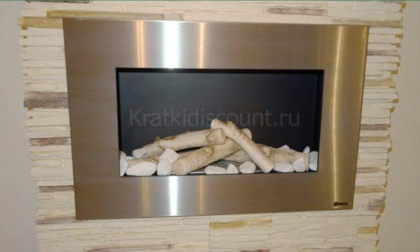 Биокамин Kratki Delta <br> стальной