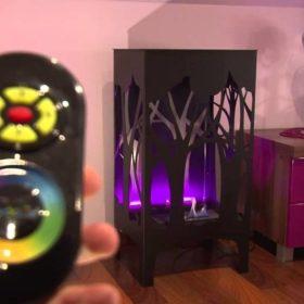 Биокамин Kratki Foxtrot <br> LED подсветка