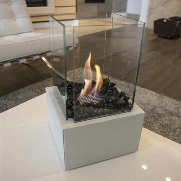 Камни FIRE GLASS <br> Kratki черный кристалл
