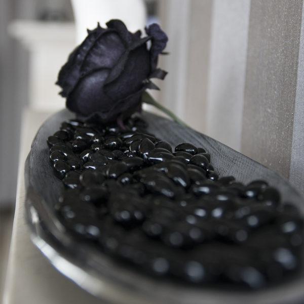 Камни FIRE GLASS <br> Kratki черные