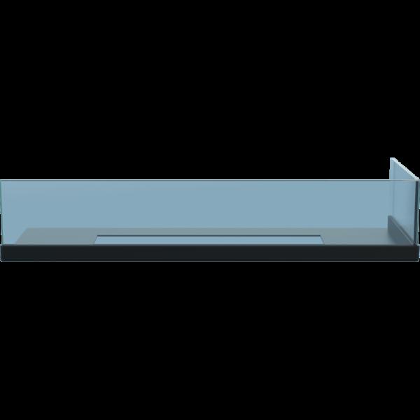 Стекло для камина <br> Delta 60 правый угол