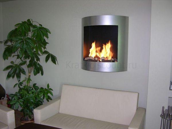 Биокамин Kratki AF <br> Auto Fire серебро