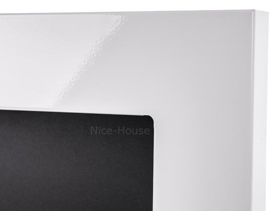 Биокамин NiceHouse  <br> 90х40 белый глянец