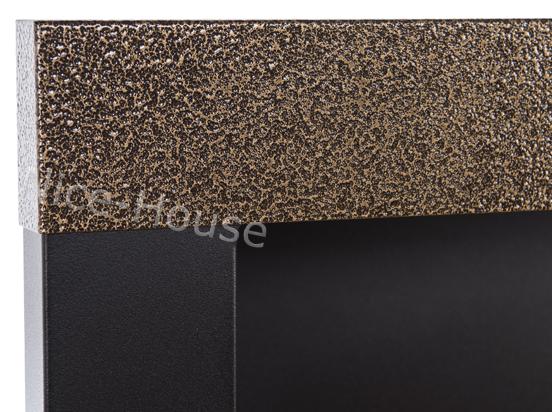 Биокамин NiceHouse <br> 90х40 H-line золотой