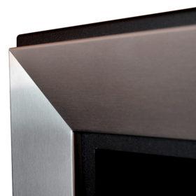 Биокамин Frame  <br> 180cm стальной