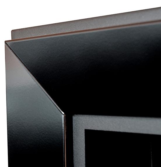 Биокамин Frame  <br> 90cm черный
