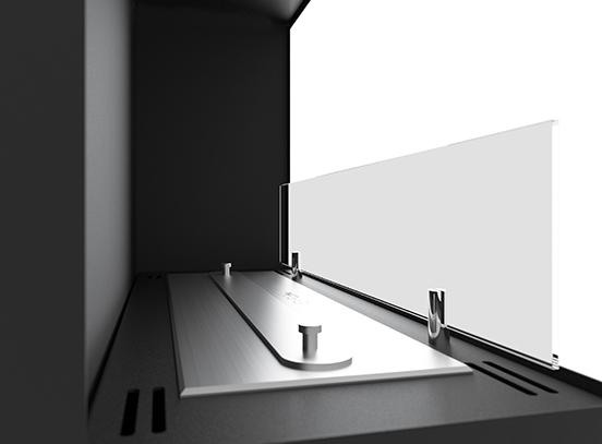 Биокамин SFire Corner 60 см<br>левый угол со стеклом