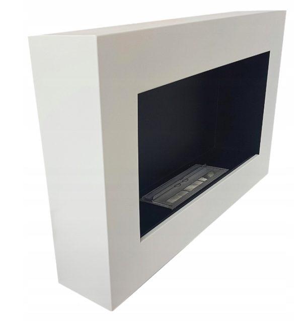 Биокамин BOX IN FLAT <br> 65х40 белый