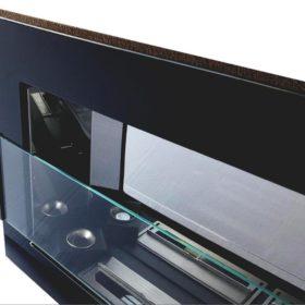 Биокамин NiceHouse  зеркало<br>90х40 матовый со стеклом
