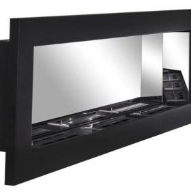 Биокамин NiceHouse зеркало <br> 120х40 черный
