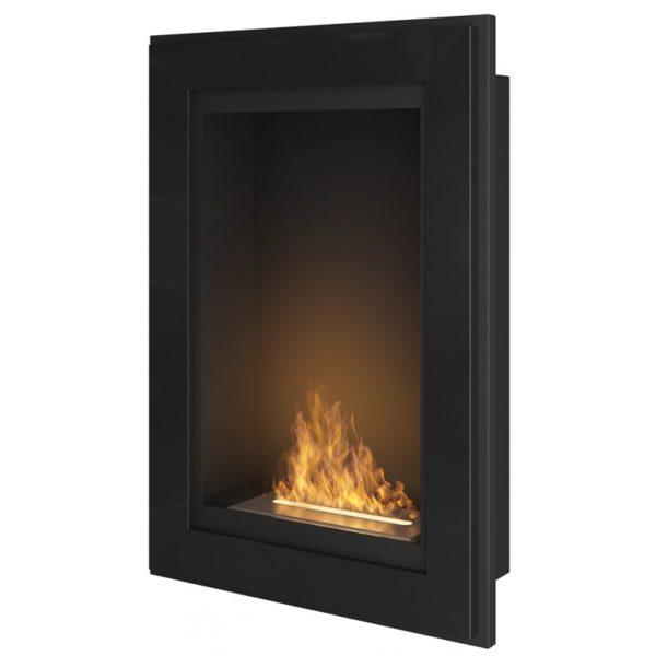 biokominek-frame-pionowy-czarny-polysk-55cm